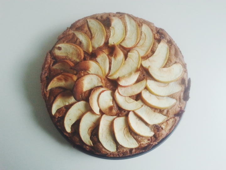 Healthy appeltaart