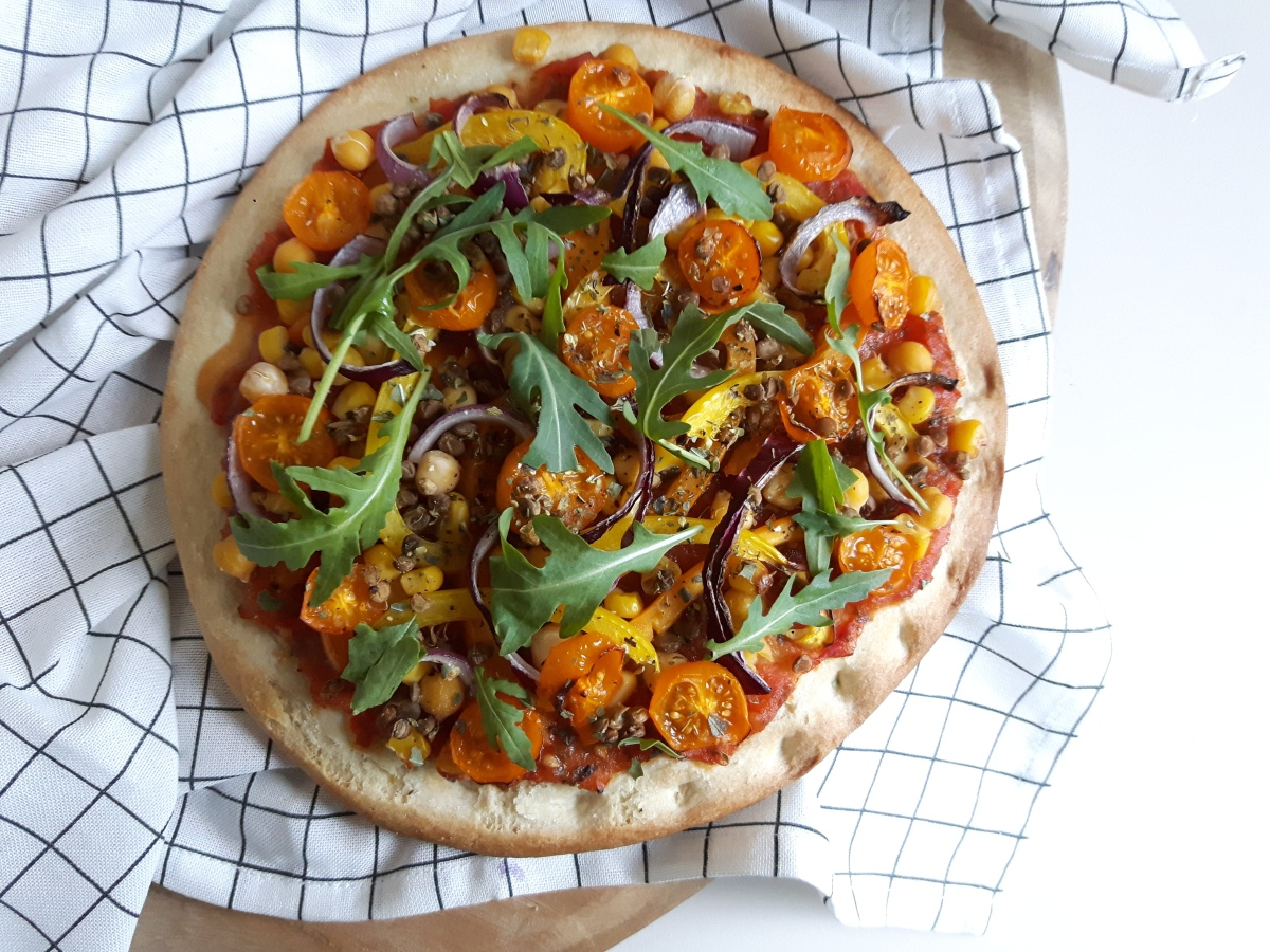 Review | Magioni pizzabodem van bloemkool